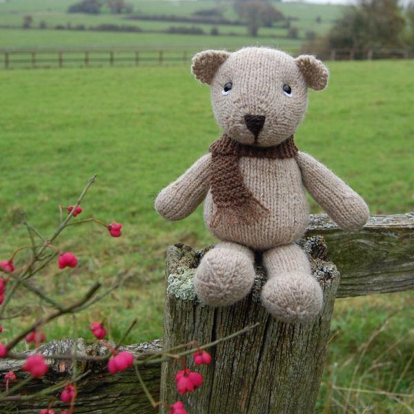 Erskine hand knitted in Shetland wool