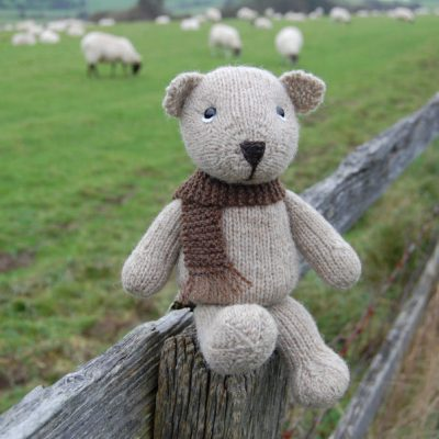 Hand knitted from our pure Shetland hand spun wool