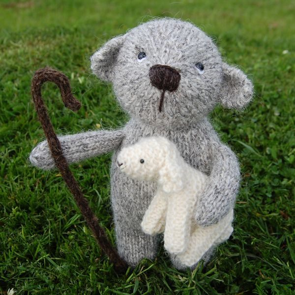 Little Herdwick shepherd bear complete with his little lamb
