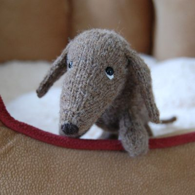 Knitted in our Shetland hand spun wool