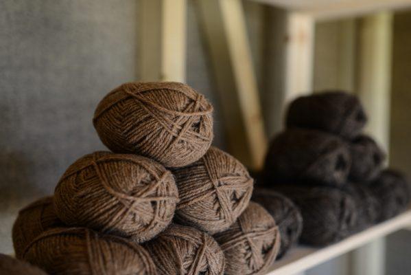 Manx Loaghtan and Hebridean wool