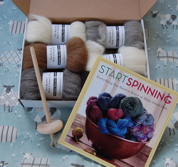 drop spindle kit ideal for anyone who would like to give hand spinning a try!
