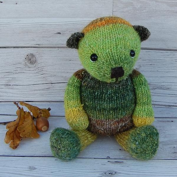 Little Elfyn, a woodland loving bear