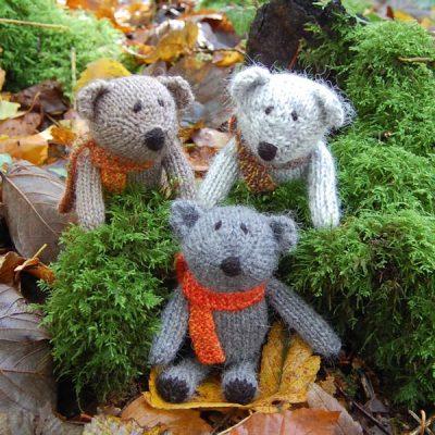 Little Scraps Teddy Bears