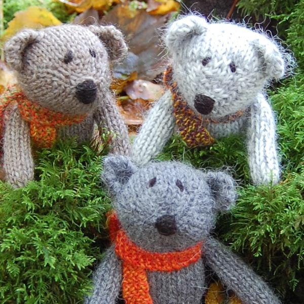 Little Scraps Teddy Bears
