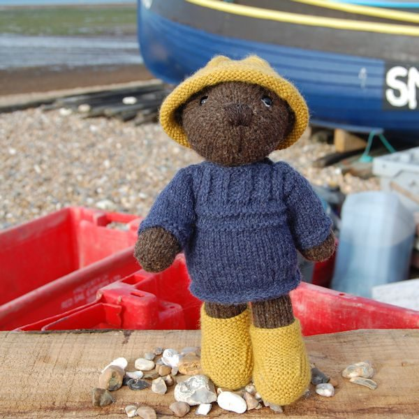 Skipper, Our Pure Hebridean Handspun Wool Teddy Bear