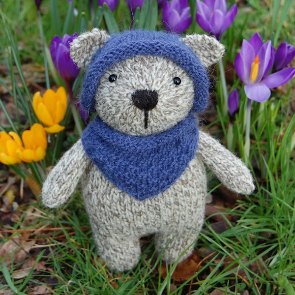 Henry hand knitted in pure rare breed Jacob wool