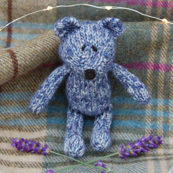 Pure organic french lavender filled teddy bear