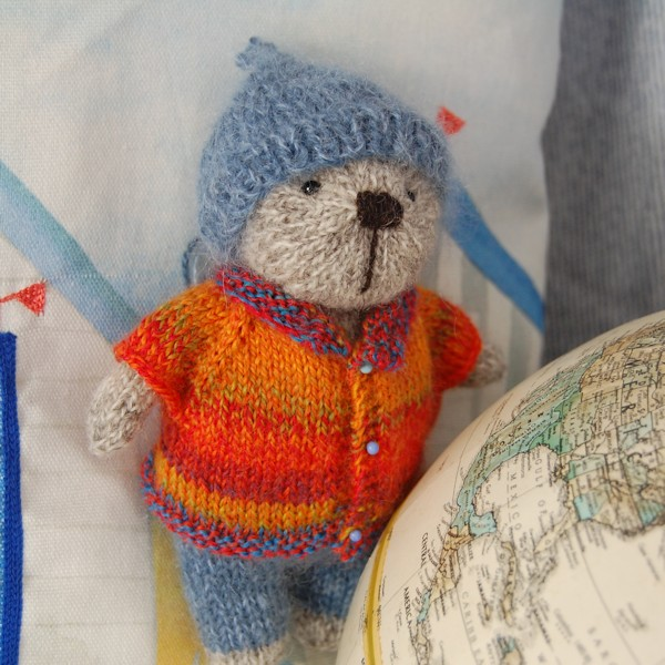 Wondering in which country on the globe his new home will be!