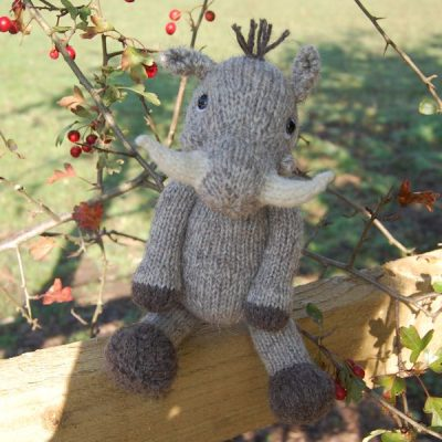 Warthog - hand knitted from pure North Ronaldsay hand spun wool