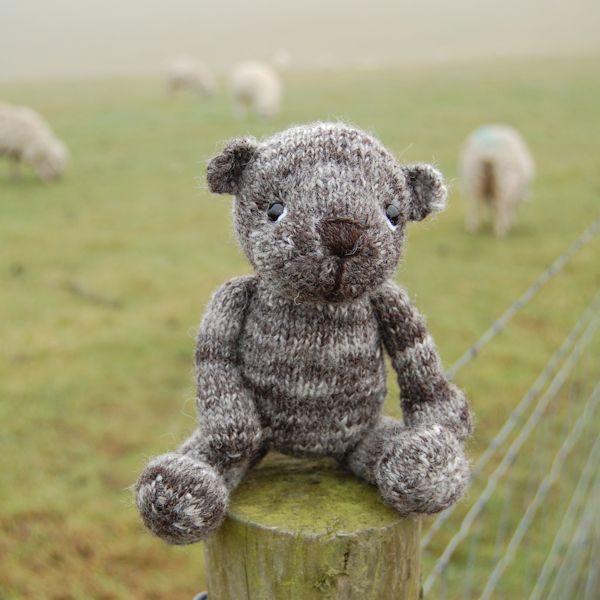 Little Humbug Jacob Wool Teddy Bear