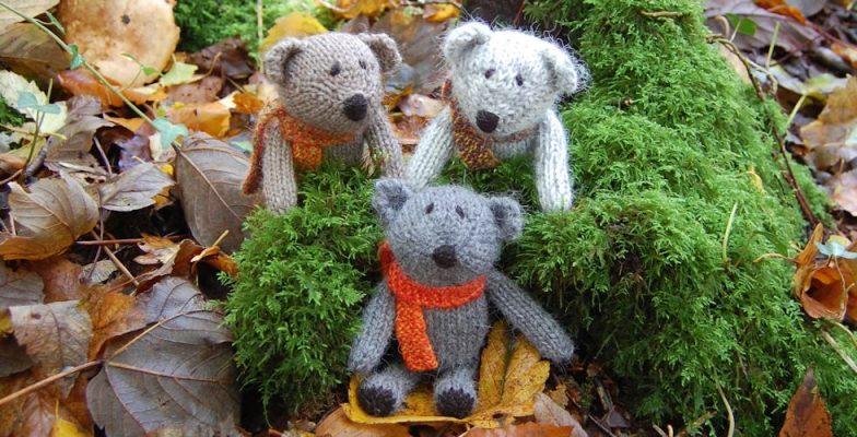 Little Scraps pocket teddy bears