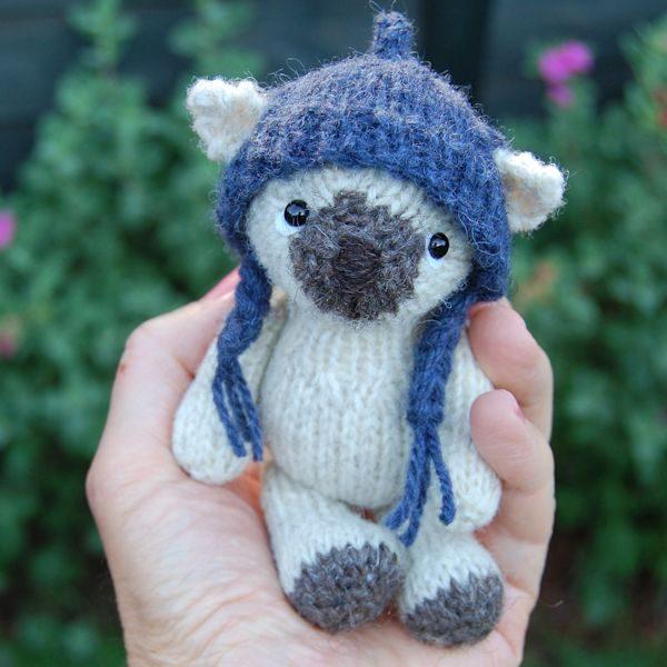 Valais Blacknose Wool teddy bear