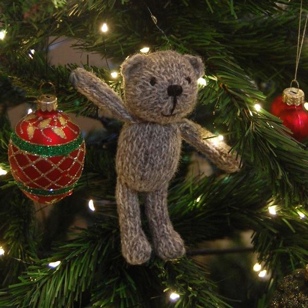 Cute little Rhys hand knitted in pure Shetland wool