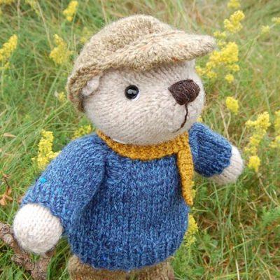 Hamish looking adorable in his cute cap