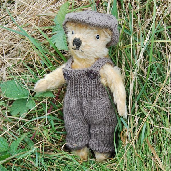 Cute little 1930s Irish teddy bear